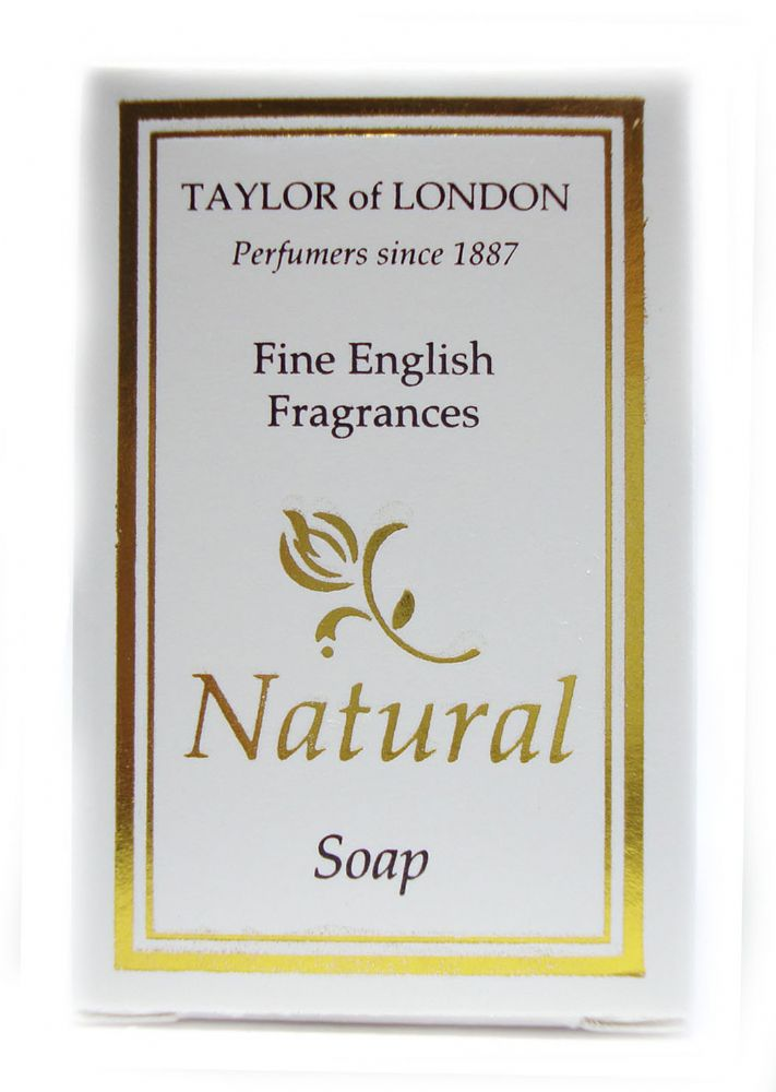 Taylor of London Natural 25g Boxed Miniature Hotel Soap